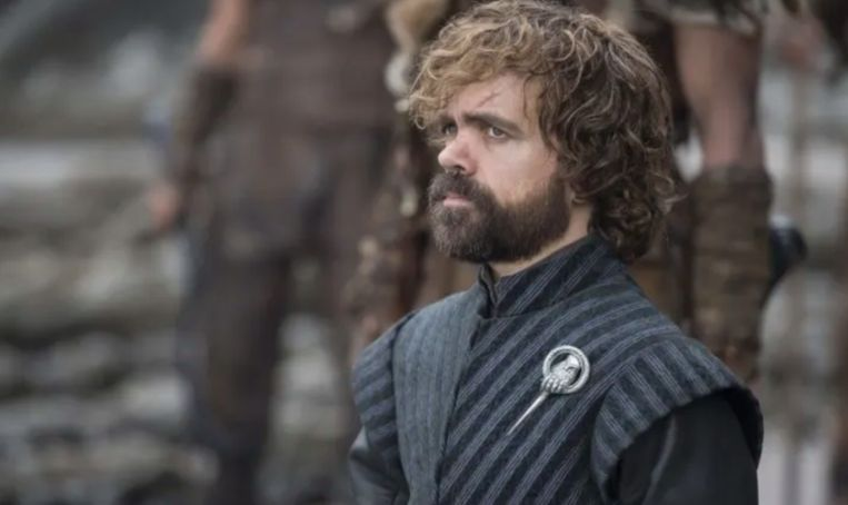 Tyrion Lannister uit 'Game Of Thrones'.