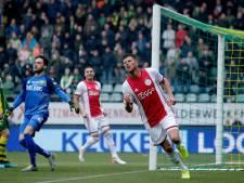 Ajax pakt zonder te imponeren volle buit bij ADO