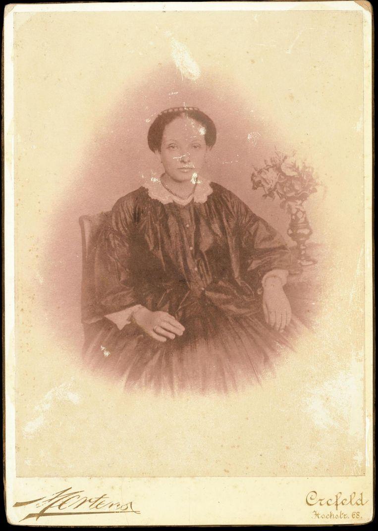 Over-overgrootmoeder Geertruida de Brie (1835-1870). Beeld null