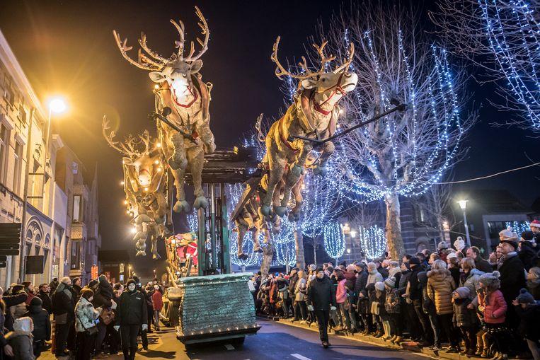 De 100ste Kerstparade in Roeselare.