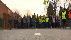 VIDEO. 3.500 scholieren betogen tegen moordstroken op steenweg in Haacht