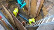 """Lek in waterleiding zet centrum van Hoeilaart zonder water: """"Slechts druppels uit de kraan"""""""