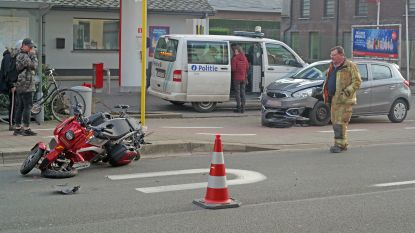 Bejaarde man gewond bij ongeval met scootmobiel