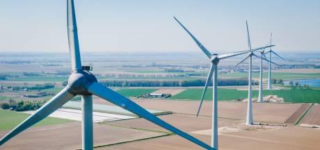 Windpark Spui maakt indruk op Brabantse delegatie