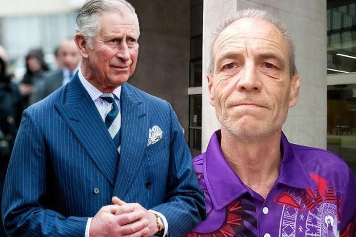 Le prince Charles et Simon Dorante-Day