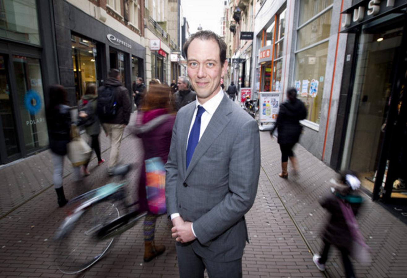 Beoogd VVD-lijsttrekker Boudewijn Revis: ,,Als ik naar mijn partij kijk, zie ik heel veel mensen die juist bezig zijn met duurzaamheid.''