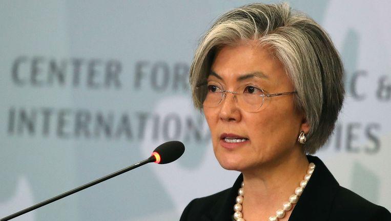 De Zuid-Koreaanse minister van Buitenlandse Zaken Kang Kyung-Wha riep in Washington de Amerikanen op de situatie met Noord-Korea niet te laten escaleren.