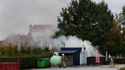 VIDEO : Frituur gaat in vlammen op na foutje met onkruidbestrijding