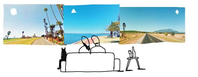 Ook prettig: Santa Barbara, Perth en Stellenbosch Beeld