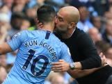 Agüero schittert bij voetbalshow City