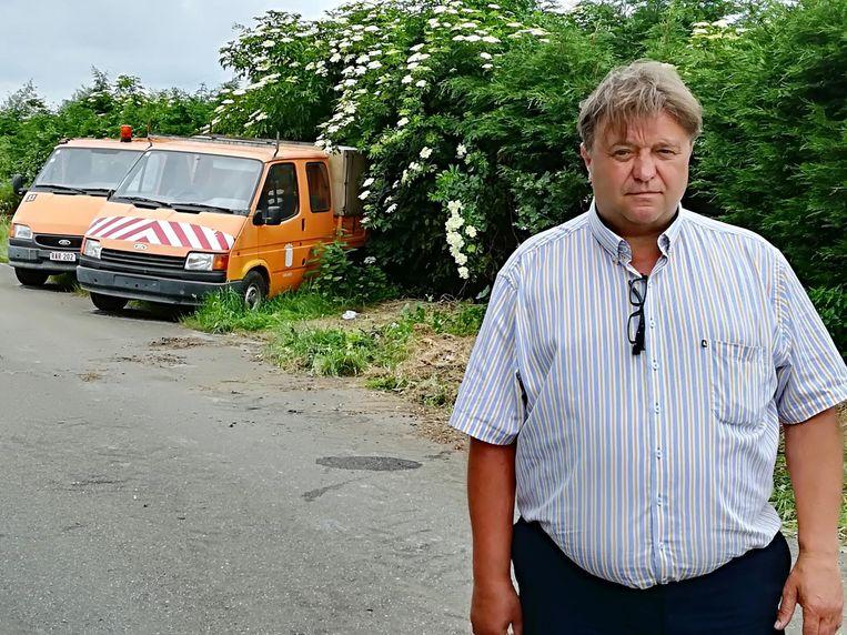 Diestenaar Louis Van Roey diende een klacht in tegen het autokerkhof.