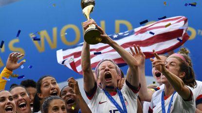 Amerika krijgt Oranje Leeuwinnen klein en wint voor vierde keer het WK