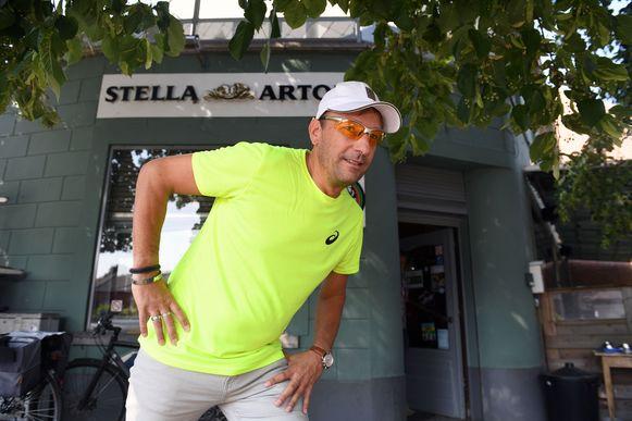 Cafébaas Arne Mortelmans liep ooit al een marathon maar de Cape Epic is nog andere koek.
