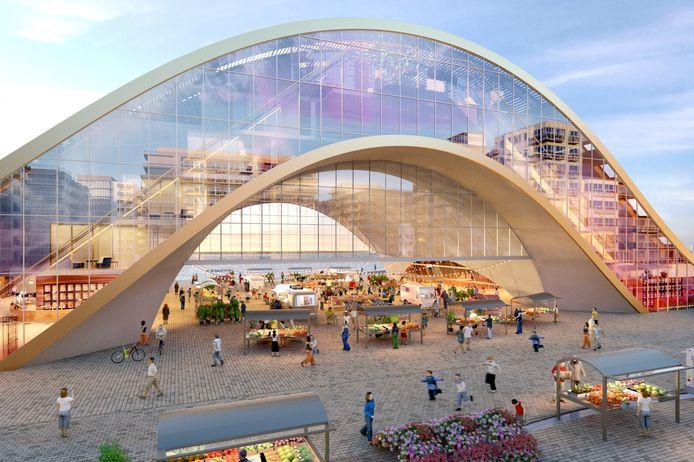 Dit casinoproject zou er dus nooit komen: de glazen boog met evenementenplein.