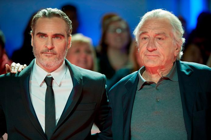 """Avec Robert de Niro à la première de """"Joker"""" à Toronto."""