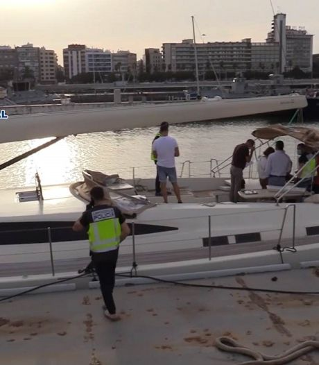 Grootste Spaanse drugsvangst ooit op zee: ruim 30 ton hasj in zeiljachten, ook Nederlandse
