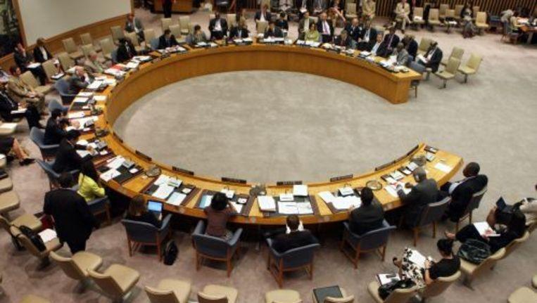 De Veiligheidsraad van de Verenigde Naties. ANP Beeld