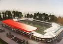 De nieuwbouwplannen van FC Dordrecht.