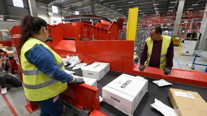 Eindejaarsrecord voor bpost: 440.000 pakjes per dag, 1.900 tijdelijke medewerkers extra