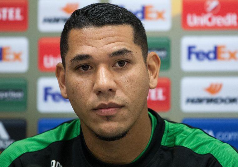 Hedwiges Maduro. Middenvelder, debuteerde bij Ajax en speelt na diverse clubs nu bij Omonia, Cyprus Beeld ANP