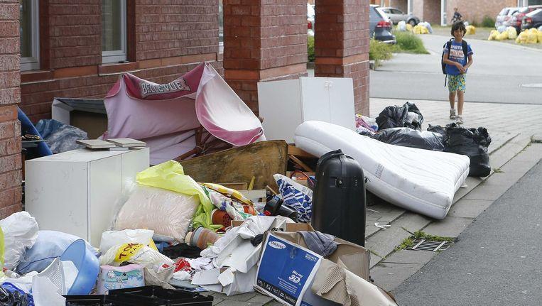 De afvalstaking in Gent had hallucinante gevolgen.