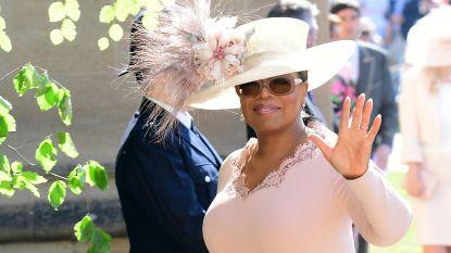 IN BEELD. Oprah Winfrey en andere bekende gasten op Royal Wedding
