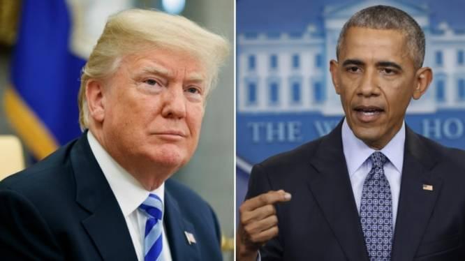 Heuse Twitterrel tussen Obama en Trump verhit de gemoederen in de VS