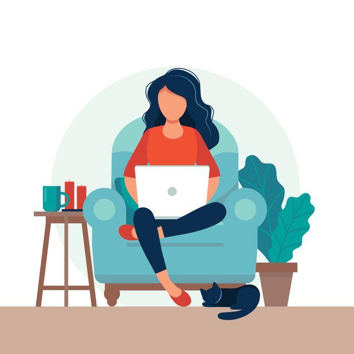 Veel van ons mogen ineens thuiswerken, terwijl de werkgever daar vroeger lastig over deed.