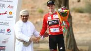 Belgisch klimtalent De Plus dicht bij ritzege in Oman, Hermans (3de) blijft leider