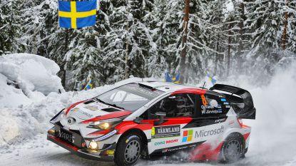 Tänak eerste leider in rally van Zweden, Neuville klokt zesde tijd