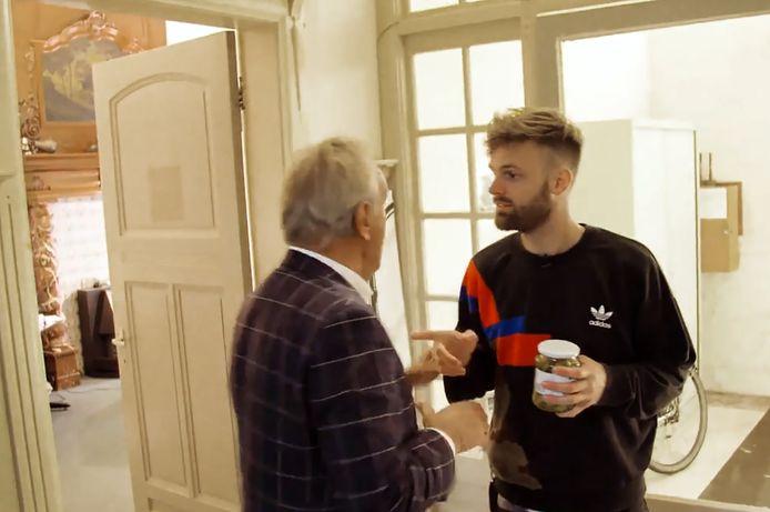 De confrontatie tussen Ton Hendriks en Tim Hofman, in de zomer van 2017.