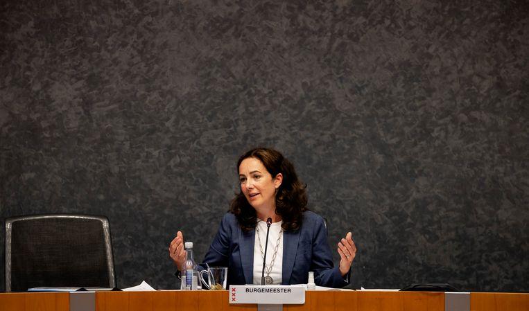 Burgemeester Femke Halsema. Beeld Hollandse Hoogte /  ANP