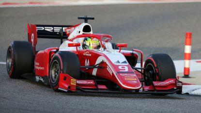 Mick Schumacher achtste bij debuut in Formule 2