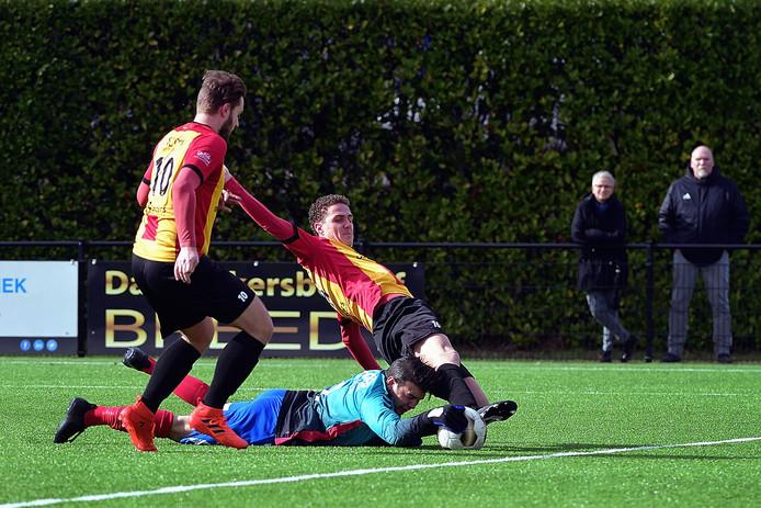 Dosko ging opnieuw onderuit in eigen huis. Ditmaal was Den Hoorn te sterk voor de club uit Bergen op Zoom. (archieffoto)