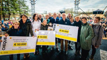 Ministers te beschaamd om met cheque te pronken