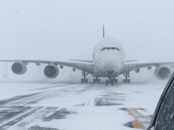 Luchthaven Stewart is niet echt berekend op vliegtuigen van het formaat A380
