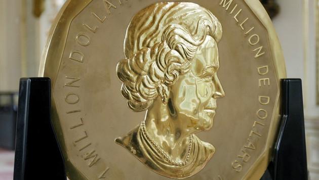 Deze Canadese munt met koningin Elizabeth uit 2007 weegt 'slechts' 100 kilo.