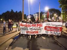 Zevensprong protesteert tegen 'rechtse' demonstratie in stadsdeel Dukenburg