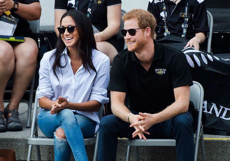 Prince Harry en Meghan Markle