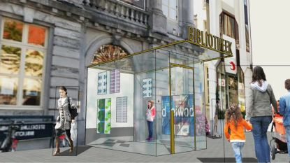 Zo zal de vernieuwde bibliotheek in Oudenaarde eruit zien