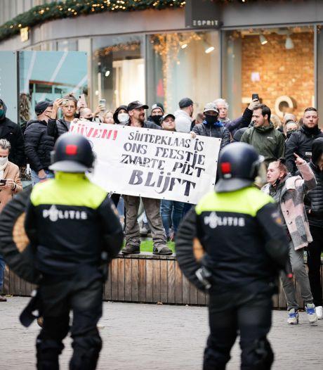 Kick Out Zwarte Piet demonstreert opnieuw na rellen in Maastricht: 'We laten ons niet intimideren'