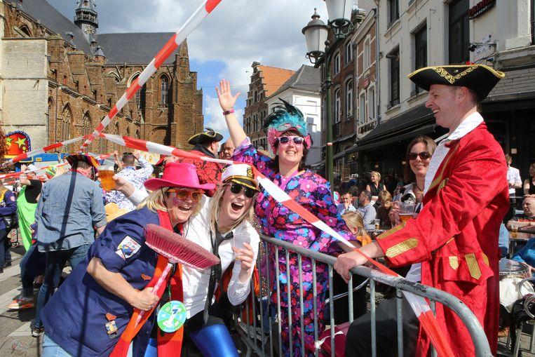 Vanaf dit jaar geen confetti meer bij het carnaval in Diest.