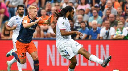 Denayer en Lyon lijden eerste nederlaag in Montpellier, Souquet (ex-AA Gent) scoort wereldgoal