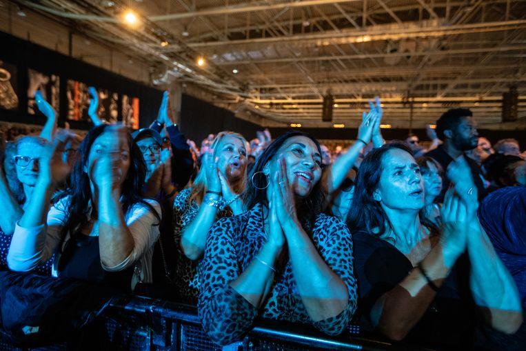 Publiek tijdens het optreden van Daryl Hall & John Oates tijdens North Sea Jazz in Ahoy Rotterdam. Beeld ANP