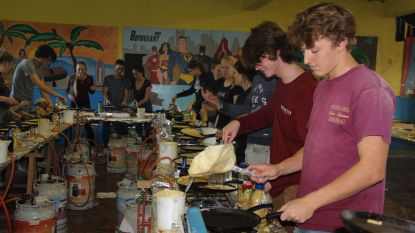 Scouting Durendael bakt 8.400 pannenkoeken in één dag