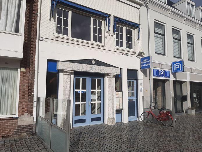 Grieks restaurant Saloniki aan de Beestenmarkt in Goes is failliet verklaard.