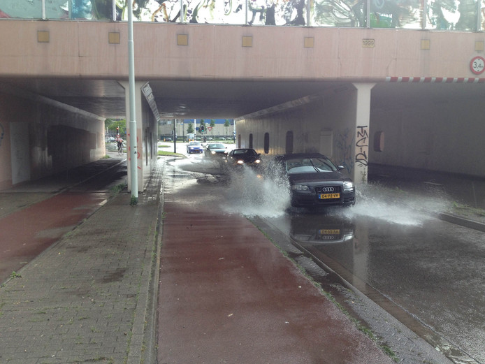 Weer tunnel blank in Eindhoven