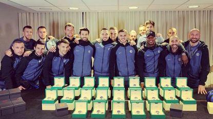 Geef je ploegmaats eens een Rolex: Inter-spits deelt 34 horloges uit als dank voor topschutterstitel