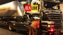 Uren hinder verwacht in Kennedytunnel na ongeval met vrachtwagens