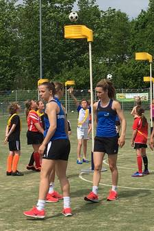 Oranje-korfballers naar Zeeuws-Vlaanderen